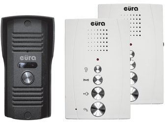 Domofon EURA DIFESA ADP-51A3 1-rodzinny 2 unifony