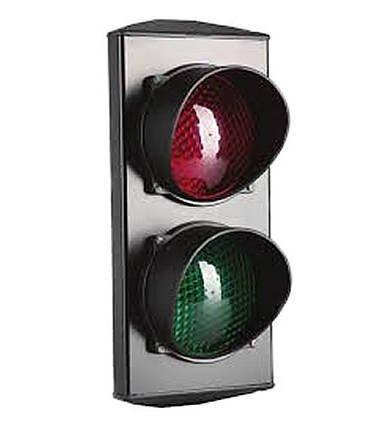 Lampa Semaforowa LED podwójna 230V FAAC