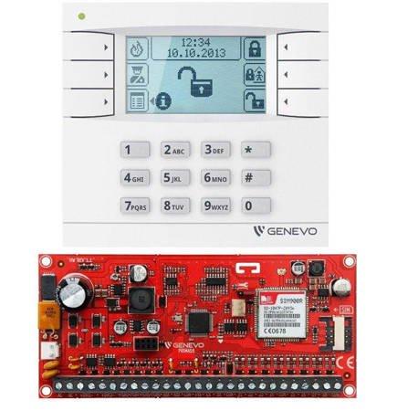 ZESTAW ALARMOWY GENEVO LCD GSM APP PRiMA 6